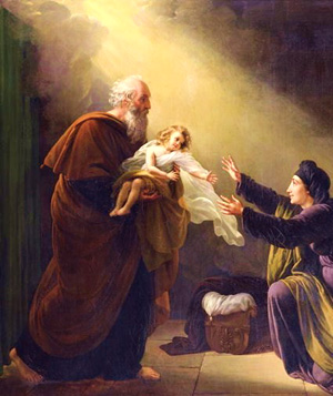 elijah raises widows son